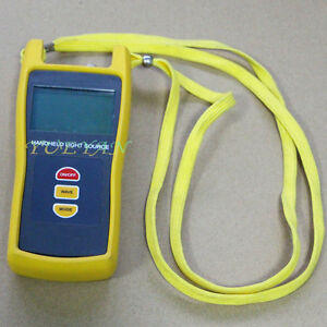 1310 1550 1490nm Fiber Optic Handheld Testing Tool Optical Light Source Tester