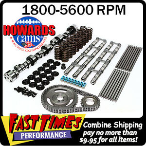 Howard s Bbc Chevy Rattler Retro fit Hyd Roller 280 288 555 555 109 Cam Kit