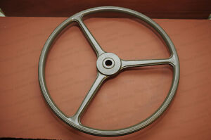 Willys Mb Or Ford Gpw Steering Wheel Olive Green Wwii Jeep Lowest Shipping
