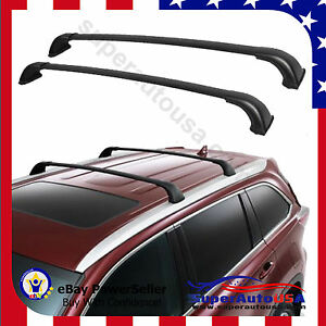 For 14 2018 Toyota Highlander Xle Top Roof Rack Luggage Carrier Cross Bar Pair