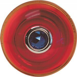 Model T Ford Tail Light Lens Red Glass With Blue Dot 3 Diameter 16 56003 1