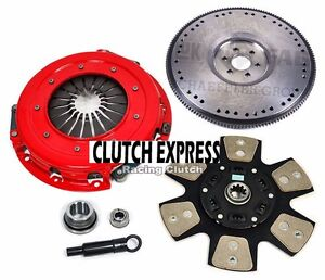 Af Stage 3 Clutch Kit solid Flywheel 86 95 Ford Mustang Gt Lx Cobra Svt 5 0 302