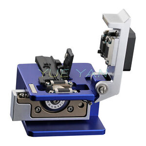 High Precision Fiber Cleaver Fiber Optic Cutting Tools Cutter 16 Surface Blade