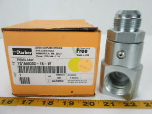 Parker Swivel Assembly Ps1690302 16 16 Hydraulic Fitting T