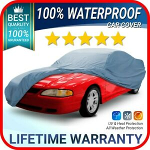Ford Mustang Gt 1999 2000 2001 2002 2003 2004 Car Cover Custom Fit