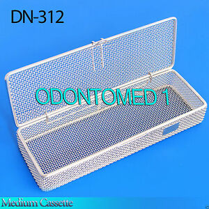 Sterilization Cassette Tray 9 X3 X1 Perforated Mesh Box Dn 312