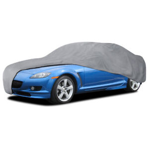 Small Full Car Cover Breathable Dust Debris Trash Scratch Protection
