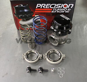 Precision Turbo Wastegate 46mm Black Pw46 Pt Pbo085 2000