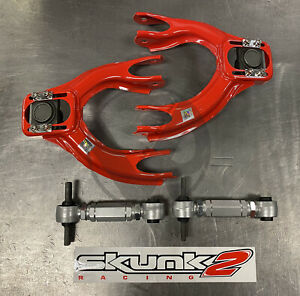 Skunk2 Tuner Front Rev Rear Camber Kit Combo 92 95 Civic 94 01 Integra Eg Dc2