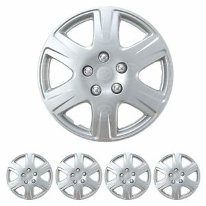 Set Of 4 15 Inch Hubcaps Full Wheel Cover Rim Cap For Steel Wheels Oem Replica