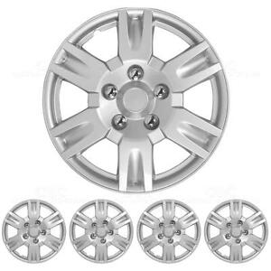 Hubcaps 16 Inch 4 Piece Set Full Lug Skin Rim Covers Oem Replacement
