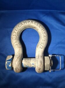 Campbell 17 T Usa Rigging lifting Shackle Wll17t 1 1 2