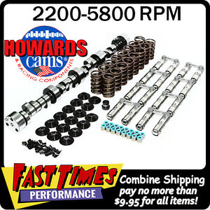 Howard S Sbc Chevy Retro Fit Hyd Roller 284 288 510 530 110 Cam Camshaft Kit