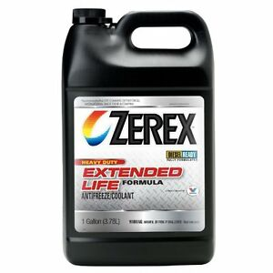 New Zerex Zxed1 Hd Extended Life Antifreeze Coolant Gallon Free Shipping