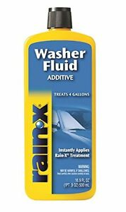 New Rain X Rx11806d 8pk Washer Fluid Additive 16 9 Fl Oz In Each Pack Of 8
