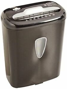 New Amazonbasics 6 Sheet High Security Micro Cut Paper And Credit Card Shredder