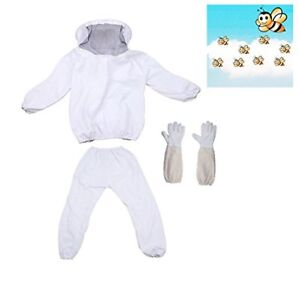 New Xgunion Professional Beekeeper Suit Jacket Pants Gloves Free Shipping
