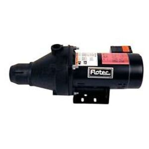 Flotec Pump Shal Well 1 2hp 2030 3830 Water Pumps New