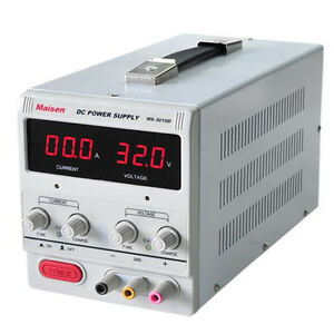 Digital Dc Power Supply 30v 10a Precision Variable Adjustable Lab Grade Be