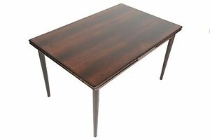 Danish Mid Century Modern Brazilian Rosewood Dining Table