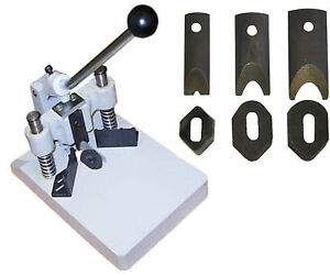 Heavy Duty Corner Rounder Cutter 3 Dies 1 4 3 8 1 2 thick Stack aluminum Plates