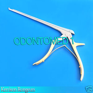 Kerrison Rongeurs Silver Gold 1mm Cervical Orthopedic Surgical Instruments