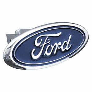 Ford Chrome Stainless Steel 1 25 Trailer Tow Hitch Cover