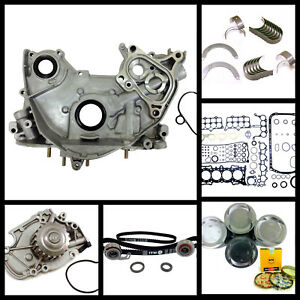 90 96 Honda Accord Prelude 2 2 Sohc F22a1 F22a4 F22a6 Master Overhaul Engine Kit