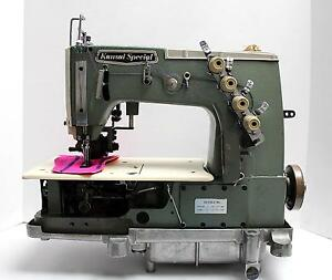 Kansai Dvk 1703pmd Coverstitch 3 needle 1 4 Industrial Sewing Machine Head Only
