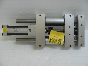 New Phd Inc Rs062x2 Pneumatic Linear Slide 2 Inch Travel W Rs062x2 h4 Cylinder