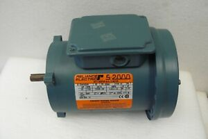 Reliance Electric Ac Motor C56h3002r Single Phase 1 3hp