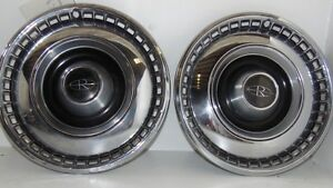 2 1967 Buick Riviera Hubcaps Wheel Covers Oem 15 Hot Rod