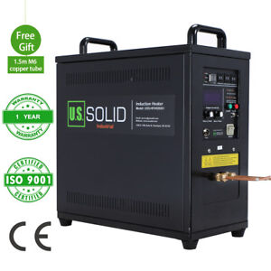 15kw 30 80 Khz High Frequency Induction Heater Furnace 220 V