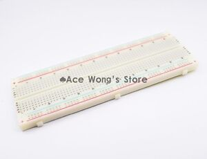 Breadboard 830 Point Solderless Pcb Bread Board Mb 102 Mb102 Test Develop Diy