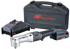 Ingersoll Rand W5330 k12 20v 3 8 Right Angle Impact Kit With 1 Battery 2 5ah
