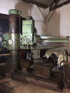 Cincinnati Bickford Super Service 15 X 5 Radial Arm Drill Press