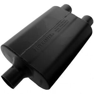 Flowmaster Super 44 Muffler 2 25 Center In 2 25 Dual Out Aggressive Sound