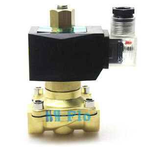 Normally Open 1 2 Npt Ac220v 240v Electric Solenoid Valve For Gas Water Air
