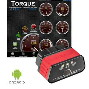 Obd2 Obdii Car Auto Bluetooth Diagnostic Tool Scanner For Samsung Android
