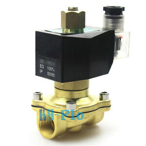 Normally Open 1 Npt Ac110v Electric Solenoid Valve For Gas Water Air