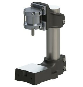 Air mite Dps4 Double Acting 400lb Pneumatic Die Press 1 Stroke New
