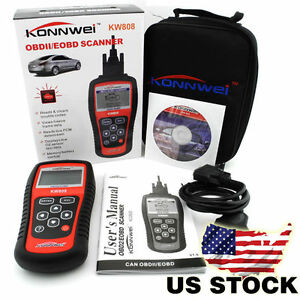 Eobd Obd2 Obdii Car Scanner Diagnostic Live Data Code Reader Check Engine New