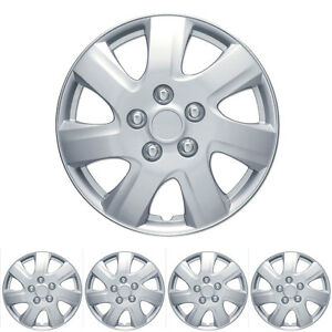 4 Piece Set Hubcap 16 Inch Oem Replacement Fit Full Lug Rim Covers Snap On Inst