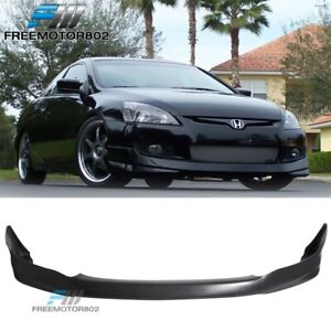 For 03 04 05 Honda Accord Hfp Style 4dr Sedan Front Bumper Lip Urethane