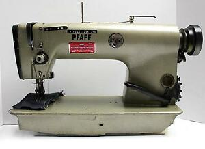 Pfaff 487 Variable Top Feed Lockstitch Reverse Industrial Sewing Machine Head