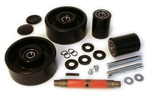 Jet J Pallet Jack Complete Wheel Kit includes All Parts Shown