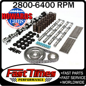 Howard S Sbc Chevy Retro Fit Hyd Roller 300 304 550 540 110 Cam Camshaft Kit