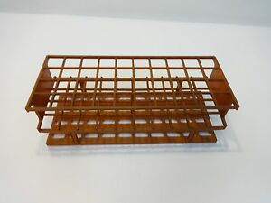 40 place Tube Rack Labware For Up To Up To 15mm Width Tubes 10x4 Lot 6 Racks