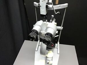 Carl Zeiss Ophthalmic Slit Lamp Prism 30sl 44000 Tested Working