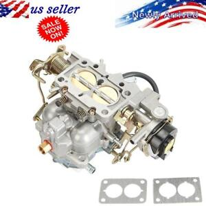 New Carburetor Type Carter Fits For Jeep Wagoneer Cj5 Cj7 2 Barrel 6 Cil